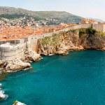 Dubrovnik walls — Stock Photo
