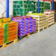 Stock Photo: Fruits warehouse