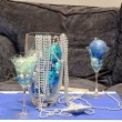Christmas blue decoration — Stock Photo
