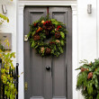Stock Photo: Holiday wreath