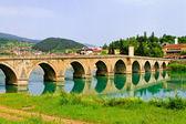 Visegrad bridge — Stock Photo