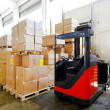 Stockfoto: Warehouse boxes