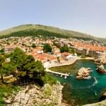 Dubrovnik aerial panorama — Stock Photo