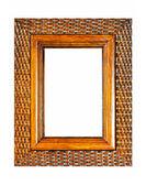 Brown frame — Stock Photo