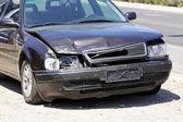 Accidente frontal — Foto de Stock