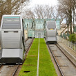 Stock Photo: Funicular transportation