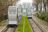 Funicular transportation — Stock Photo