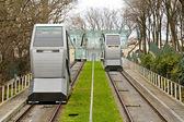 Funicular transportation — Stock Photo