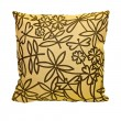 Leaves pillow — Stock Photo
