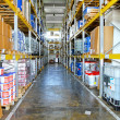 Stock Photo: Storehouse corridor
