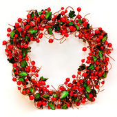 Berry wreath — Stock Photo