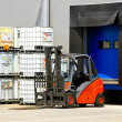 Stock Photo: Forklift