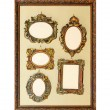 Stock Photo: Antique frames