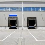 Warehouse doors — Stock Photo #4636456
