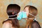 Two masks — Stock Photo