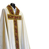 Priest dress — Stock Photo