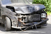 Front collision — Stock Photo