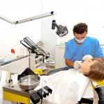 Dentist workplace — Stock Photo