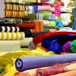 Fabric rolls — Stock Photo