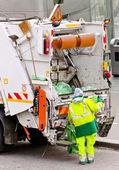 Garbage management — Stock Photo