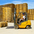Royalty-Free Stock Photo: Forklift handling