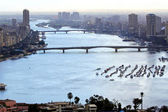 Nil nehri kahire — Stok fotoğraf