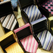 Ties collection — Stock Photo