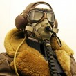 WWII Pilot - Stock Photo