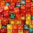 Stock Photo: Colorful dices