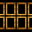 Eight frames — Stockfoto