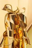 Gouden geschenken — Stockfoto