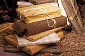 Recyklovaný dárky — Stock fotografie