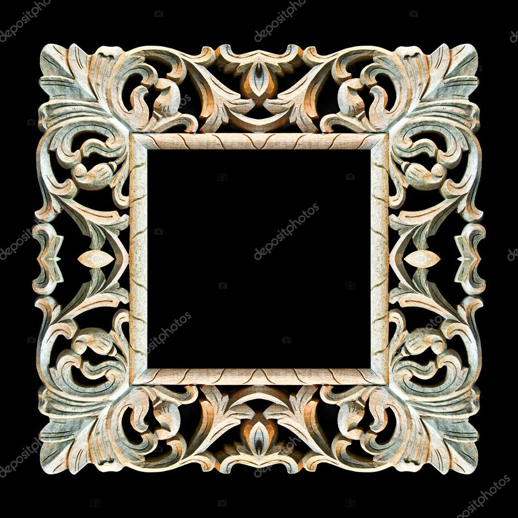 Old wooden frame — Stock Photo © Baloncici #4878017