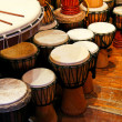 Traditional drums — Stock Photo