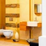 Yellow bathroom — Stock Photo #4890359