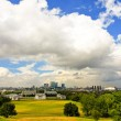 Greenwich panorama — Stock Photo