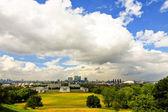 Greenwich panorama — Stock Photo