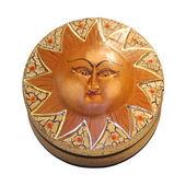 Cirkel sol låda — Stockfoto