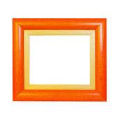 Orange frame — Stock Photo
