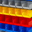Colorful shelf — Stock Photo