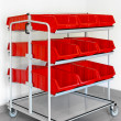 Inventory trolley — Stock Photo