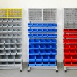 Stock Photo: Workshop shelves