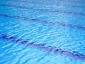 Swimming pool stripes — Stock Photo