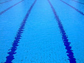Swimming pool surface — Stock Photo