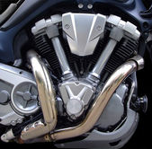 Twin Engine — Stock Photo