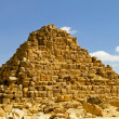 Queen Hetepheres pyramide - Stock Photo