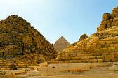 Pyramid ruins — Stock Photo