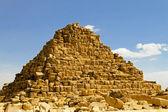 Queen Hetepheres pyramide — Stock Photo