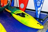 Kayak amarillo — Foto de Stock