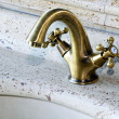 Stock Photo: Bathroom faucet